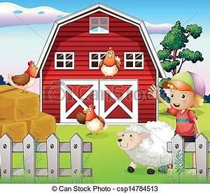 Farmhouses clipart - Clipground