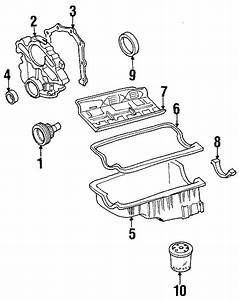 Mazda B4000 Engine Timing Cover Gasket  Front   4 0 Liter