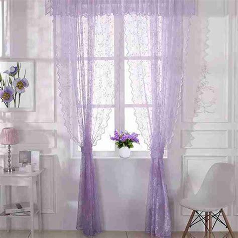 shipping hollow  purple lace curtain hotel yarn