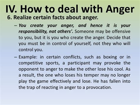 7 How To Handle Anger