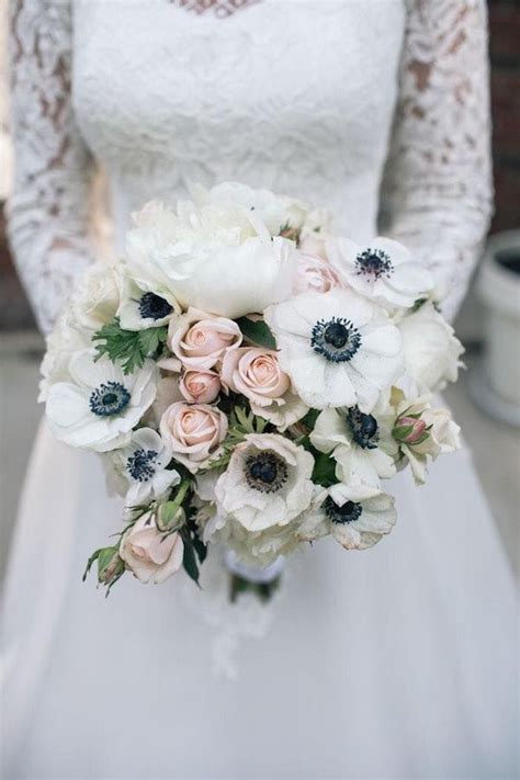 Best 25 Anemone Bouquet Ideas On Pinterest