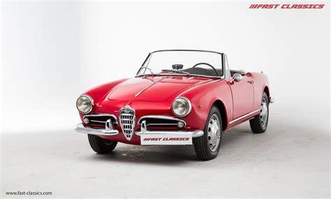 Used 1960 Alfa Romeo Giulietta [pre85] For Sale In Surrey