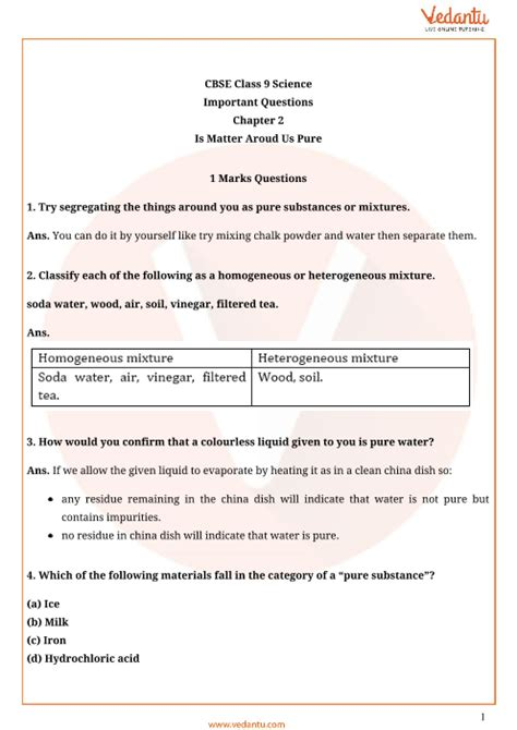 important questions  cbse class  science chapter