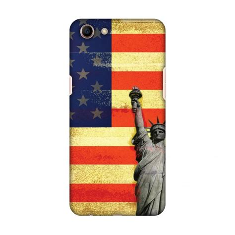 amzer designer rustic liberty us flag for oppo a83 multicolor price in india buy amzer
