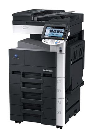 Драйвер для принтера konica minolta bizhub 164. KONICA MINOLTA C353 SERIES PCL DRIVERS DOWNLOAD