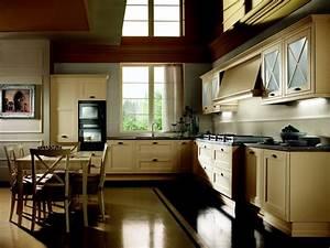 awesome cuisine contemporaine design gallery design With modele de cuisine rustique