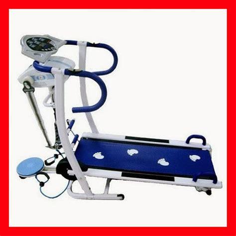 Treadmill 6 Fungsi jual alat fitness treadmill manual 6 fungsi plus massager