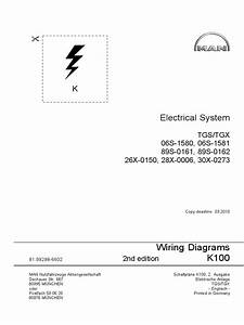 Man K100 Electrical System Tgs