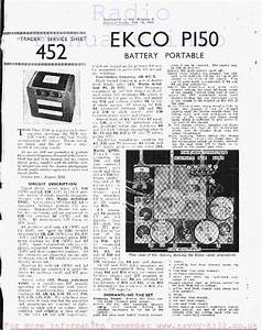 Ekco P150 Service Manual Download  Schematics  Eeprom