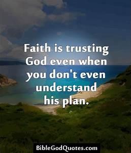 Trust You God Quotes. QuotesGram