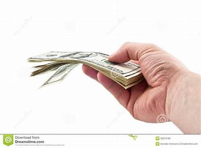 Money Give Giving Hand Background Isolated Dreamstime