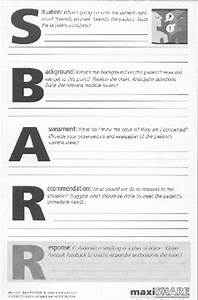nursing sbar examples With sbar template word