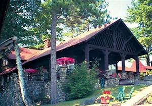 The Rustic Stone Fireplace Amazing Adirondack Designs