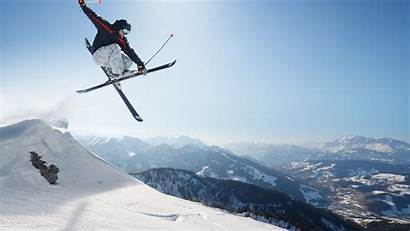 4k Freestyle Sports Ultra Skiing Ski Adventure