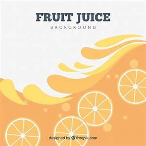 Orange juice background Vector | Free Download