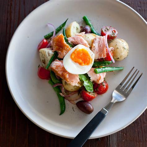 smoked salmon nicoise salad nadia lim