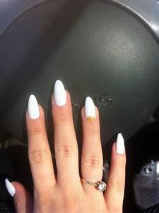 powder white stiletto nails pictures photos and images