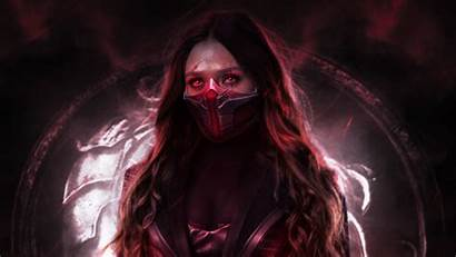 Witch Scarlet 4k Wallpapers Feiticeira Mortal Kombat