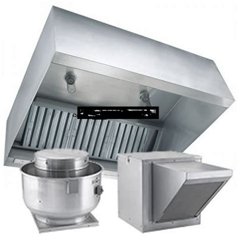 "Commercial Kitchen Exhaust Hoods 6'x48"" Package Cleaning"