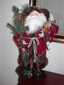 classic old world country santa claus 22 inch figure