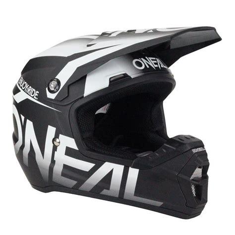 white motocross helmets oneal new 2017 mx 5 series blocker dirt bike black white
