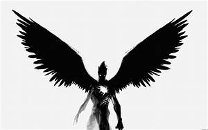 Angel Wings Black And White - Cliparts.co