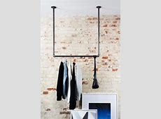 Clothing rack that can be hung from the ceiling many
