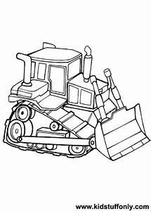 Bulldozer / Mecanic Shovel #7 (Transportation) – Printable ...