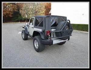 2007 Jeep Wrangler Rubicon Bright Silver Metallic Suv 3 8l