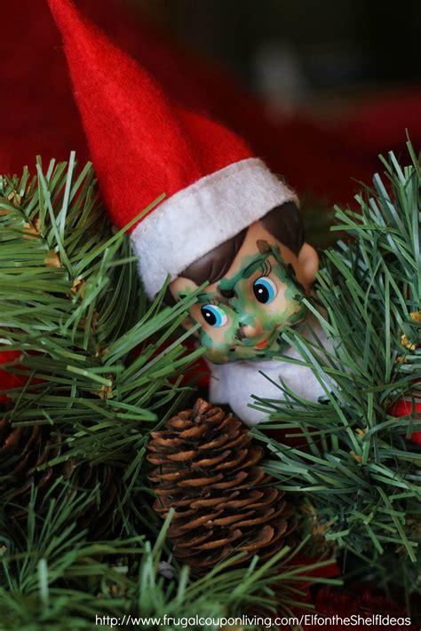 elf   shelf ideas elf  camo   christmas tree