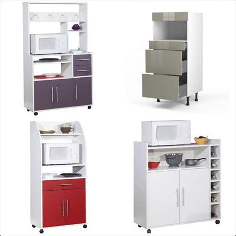 meuble cuisine pour four et micro onde meuble colonne four et micro onde pas cher cuisine en image