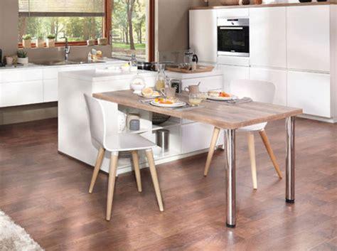 fabriquer sa table de cuisine 30 idées à piquer pour une cuisine décoration