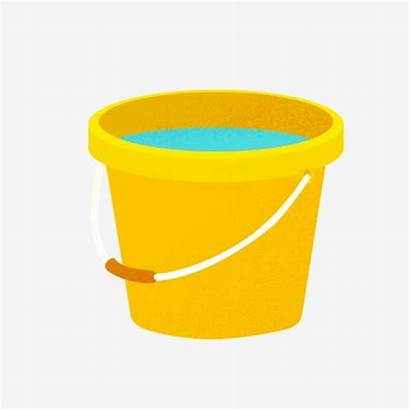 Bucket Yellow Ember Kartun Arc Gambar Cartoon