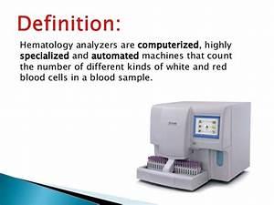Haematology Analyzer