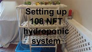 Basic Setup Instructions 108 Nft Hydroponics System Or Diy