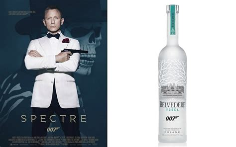 James Bond Will Drink Belvedere Martinis In 'spectre