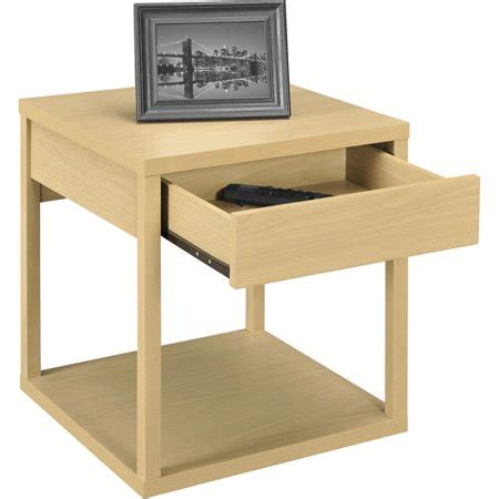 mainstays parsons desk with drawer mainstays parsons end table with drawer colors