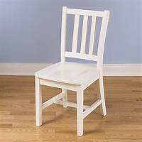 white wood desk chair Parker Desk Chair (White)