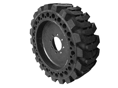 Flat Proof Solid Rubber Tires For Skidsteers