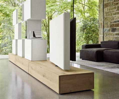 Tv Möbel Als Raumteiler by Design Raumteiler Wohnwand C46 Drehbaren Tv Paneel