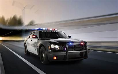 Police Charger Dodge Pursuit Desktop Muscle Cop