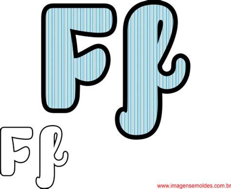 molde da letra f cursiva