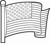 Flag Printable Coloring African Printablee Stripes Via Printables sketch template