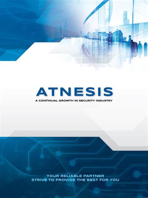 atnesis company profile design logo design penang