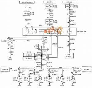Shanghai Gm Buick Uff08excelle Uff09saloon Car Lighting System Circuit Diagram Eight