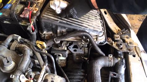 p idle air control valve replacement youtube