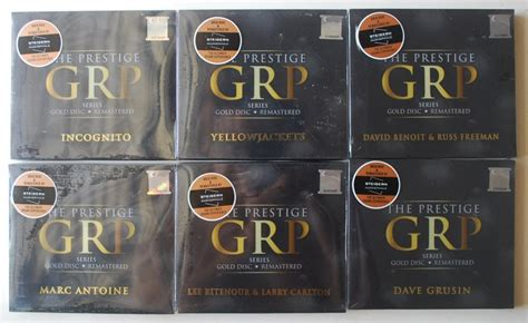 For Sale The Prestige Gpr Series Gold Disc Remastered