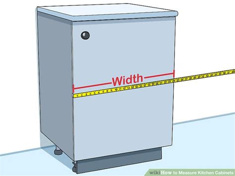 measure kitchen cabinets  steps  pictures