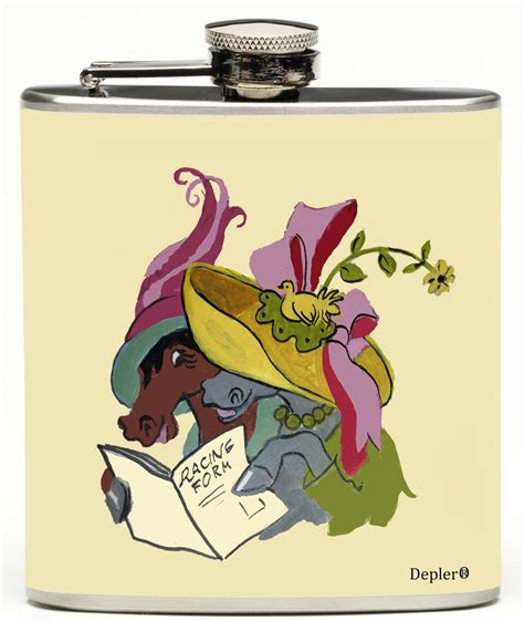 reading racing form ladies reading the racing form flask derby gifts