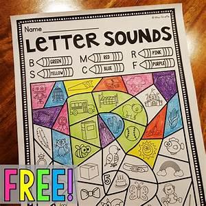 Free Color By Beginning Sound Worksheet